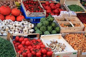 Экспорт овощей из Грузии в Азербайджан сократился