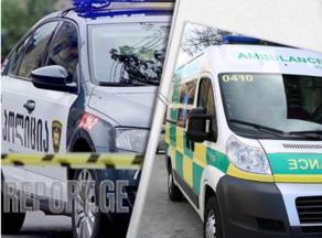 Four injured after car hits tree in Shida Kartli