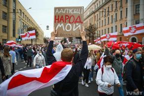 В Беларуси на сегодняшней акции протеста задержали около 200 человек