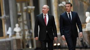 French President talks about Georgia with Putin