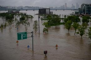 Из-за ливней в Южной Корее погиб 31 человек