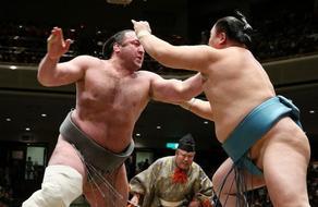 Tochinoshin defeated on Basho X day