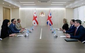 თავდაცვის მინისტრი ბრიტანეთის ელჩს შეხვდა