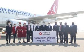 Turkish Airlines resumes Istanbul-Ganja-Nakhchivan flights