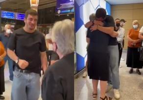 Olympic champion Lasha Bekauri's emigrant grandmother returns to homeland - VIDEO