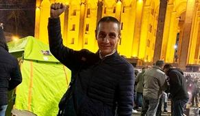 Protester Lasha Chkartishvili sentenced to imprisonment