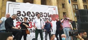 Вахо Саная: У вас время до завтрашнего утра, чтобы Гарибашвили ушел в отставку