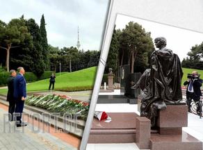 Посол Грузии почтил память Гейдара Алиева