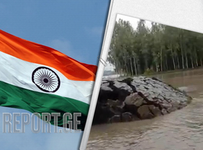 ინდოეთში იშვიათი ბუნებრივი ფენომენი ვიდეოზე გადაიღეს - VIDEO