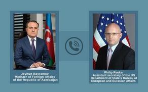 Глава МИД Азербайджана обсудил с представителем США ситуацию на азербайджано-армянской границе