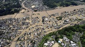 იაპონიაში ძლიერი წყალდიდობაა