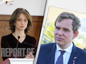 Ekaterine Tikaradze and Diego Colas get acquainted with the vaccination of foreign citizens
