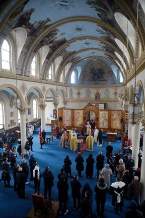 Арчил Талаквадзе посетил храм Святого Давида в США