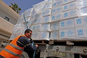 В сектор Газа доставили гуманитарную помощь