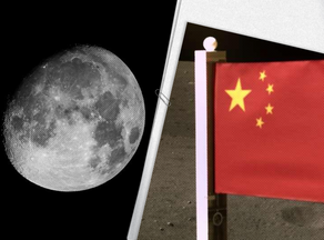 China becomes second nation to erect its flag on the moon