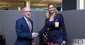 საქართველო-რუმინეთის საგარეო საქმეთა მინისტრებმა ქვეყნებს შორის ურთიერთობებს მაღალი შეფასება მისცეს