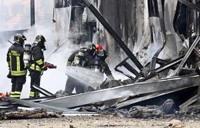 Самолет врезался в здание под Миланом - все пассажиры погибли