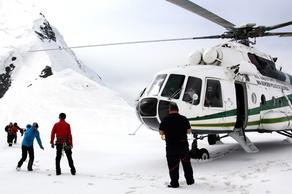 Tourist buried in snow after avalanche on Mount Tetnuldi