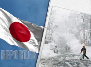 იაპონიაში დიდთოვლობას 6 ადამიანი ემსხვერპლა