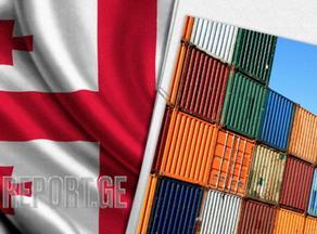 В январе-июле экспорт в Грузии увеличился на 27,8%