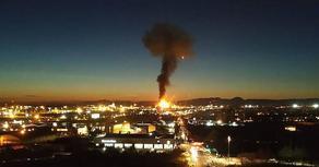 კატალონიაში ნავთობქიმიურ ქარხანაში აფეთქება მოხდა - VIDEO