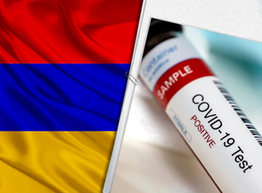 The number of COVID-infected patients at 45,862 in Armenia