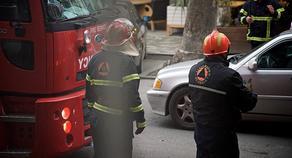 ბათუმში ავტომობილს ცეცხლი გაუჩნდა