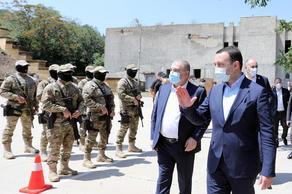Ираклий Гарибашвили посетил показательные учения СГБ