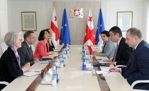Георгий Гахария встретился с президентом NDI