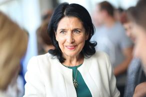 Президент Грузии находится с рабочим визитом во Франции