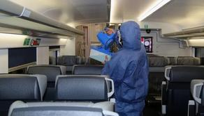 Пассажирские поезда и станции будут ежедневно дезинфицировать