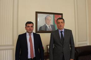 Фаиг Гулиев и Георгий Пертая обсудили деловое сотрудничество между двумя странами