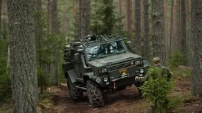 შვედეთის ჯარს ორი სამხედრო ჯიპი მოპარეს