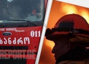 Fire rips through Batumi apartment building