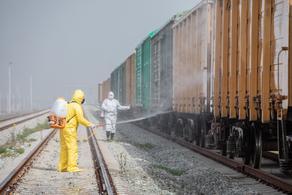 Freight turnover triples at Baku-Tbilisi-Kars railroad