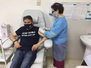 Дато Турашвили привился от коронавируса