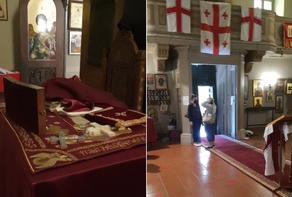Georgian church raided in Rome - VIDEO