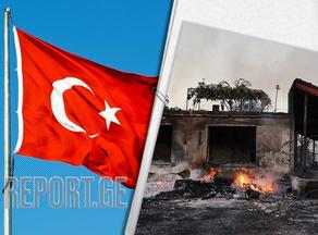 В Турции задержан молодой человек, подозреваемый в умышленном поджоге