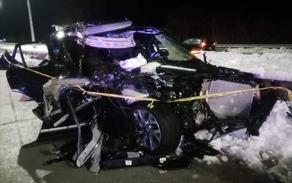 ლიპყინულის გამო ზესტაფონი-ქუთაისის ავტომაგისტრალზე რამდენიმე ავარია მოხდა