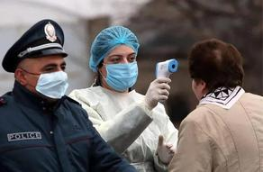 The number of COVID cases at 9,282 in Armenia