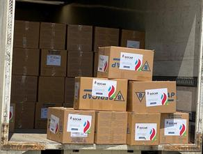 SOCAR has granted food products to socially vulnerable families