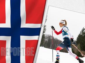 Therese Johaug retains 10km world title in Oberstdorf