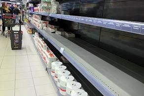პანიკა მადრიდში - მაღაზიებში თაროები ცარიელია