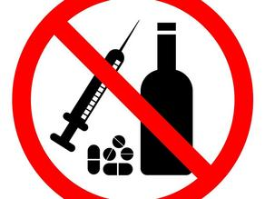 Amount of alcohol allowed before and after vaccination