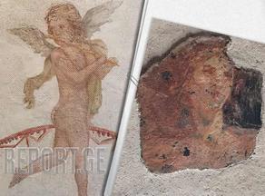 პომპეის მოპარული ძველრომაული ფრესკები დაუბრუნდა