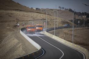 ისნის რაიონში ახალი გზა დააგეს - PHOTO