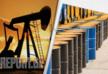 Oil price on world markets