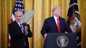 ტრამპმა ისრაელი-პალესტინის კონფლიქტის დარეგულირების გეგმა წარადგინა