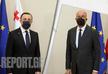 Irakli Gharibashvili meets Charles Michel