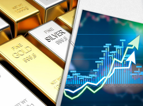 Gold and silver price rises